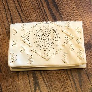 NWD Free People Leather Clutch B-949
